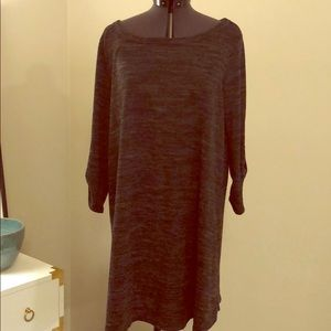 Mittoshop dark gray large tunic top